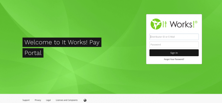 www.myitworkspay.com – It Works! Pay Portal