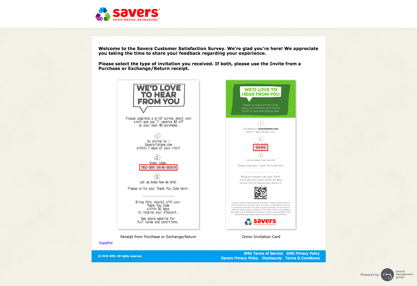 savers listens