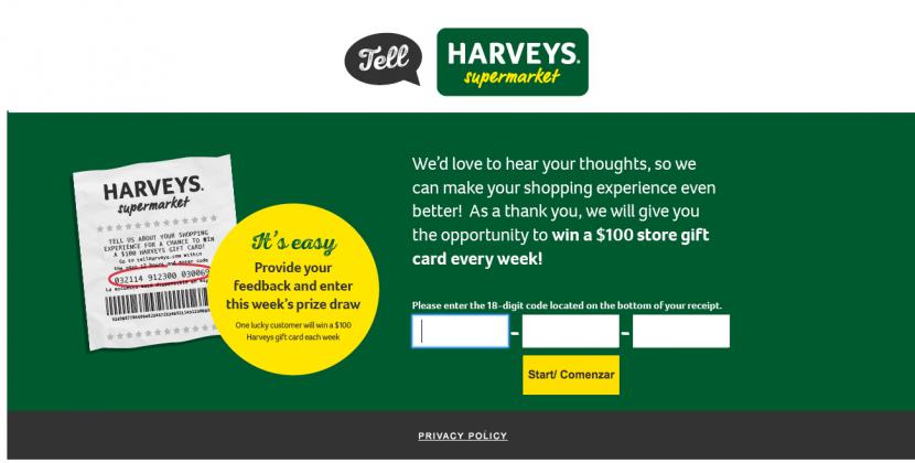 https www tellharveys com surveys