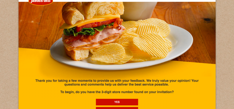 www.jasonsdelifeedback.com – Jason's Deli Customer  Survey