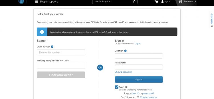 www.att.com/checkmyorder – AT&T Order Status