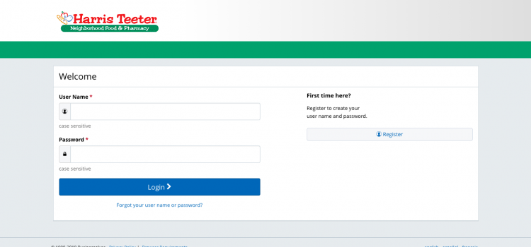 www.myhtspace.com –  Harris Teeter Employee Portal Login