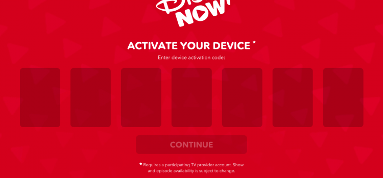 www.disneynow.com/activate – DisneyNOW Activate