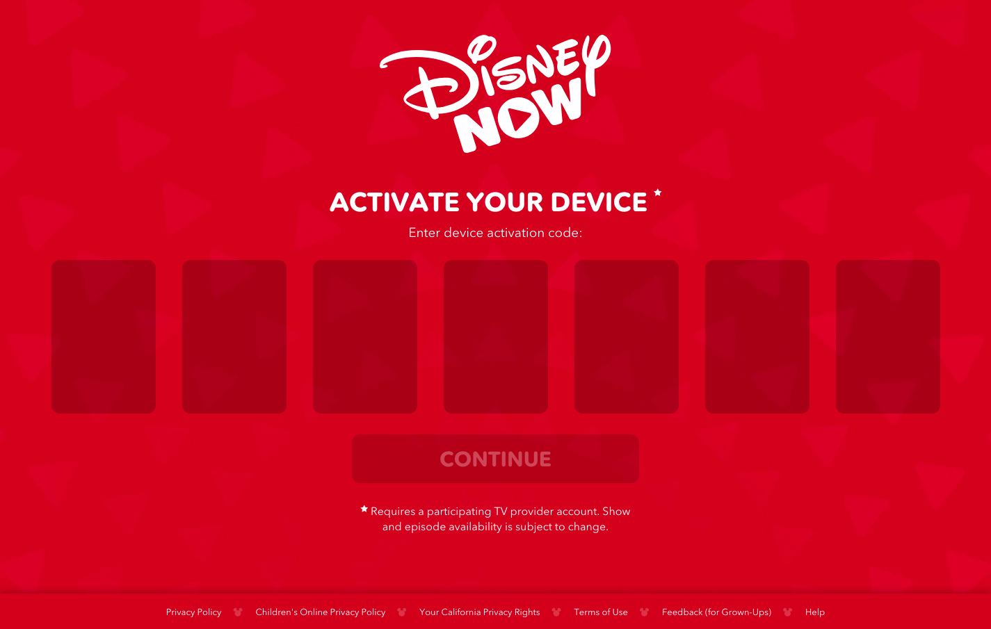 DisneyNOW Activate