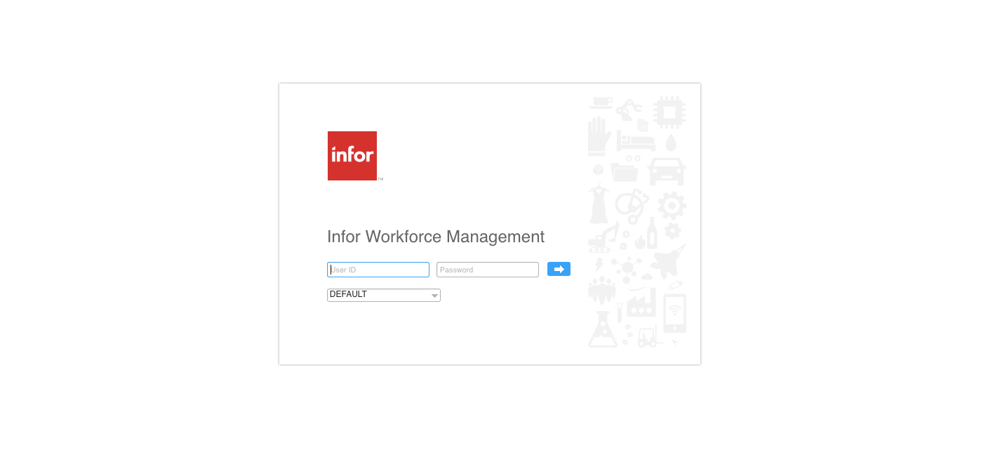 Infor HCM Workforce Management ETM Login