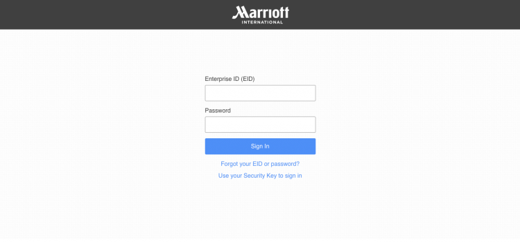 www.4myhr.com  – Marriott Extranet Login