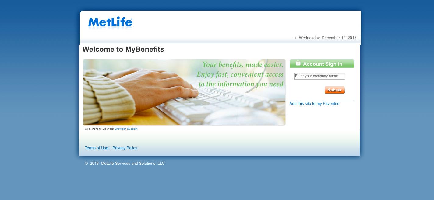 MyBenefits Common Access