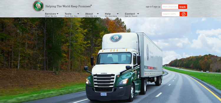 www.odfl4us.com – Log into Old Dominion Freight Line Account