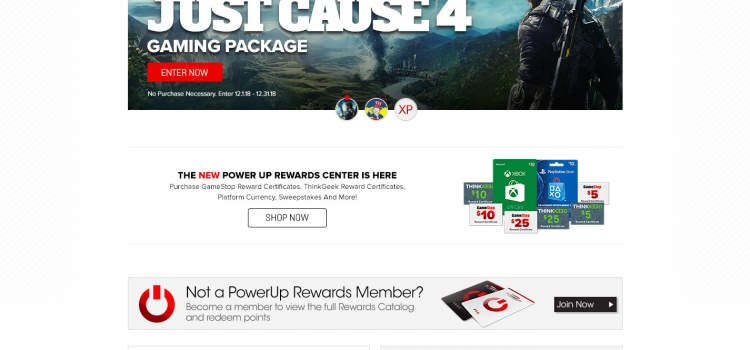 www.gamestop.com/poweruprewards – GameStop PowerUp Rewards