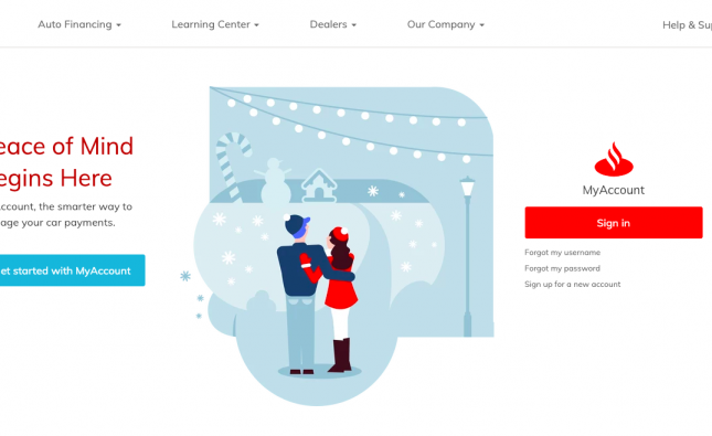 myaccount.santanderconsumerusa.com – Santander Consumer USA Payment