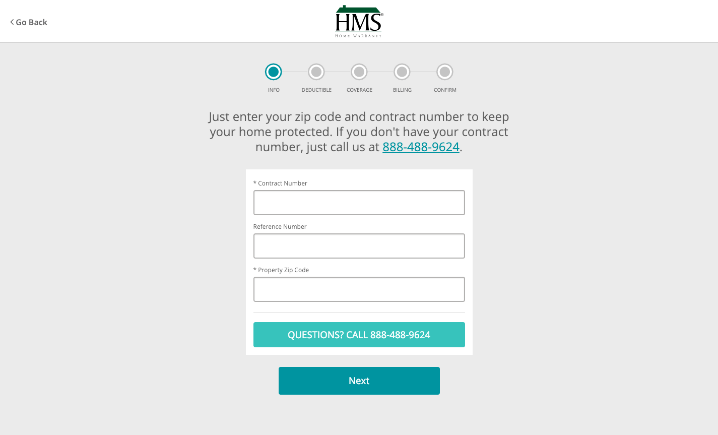 HMS National Inc Renewal System
