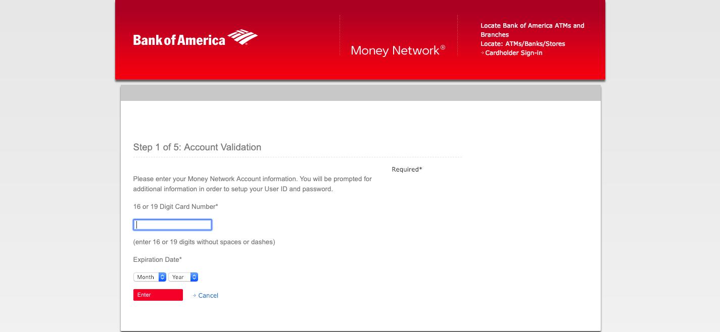 https moneynetwork bankofamerica com