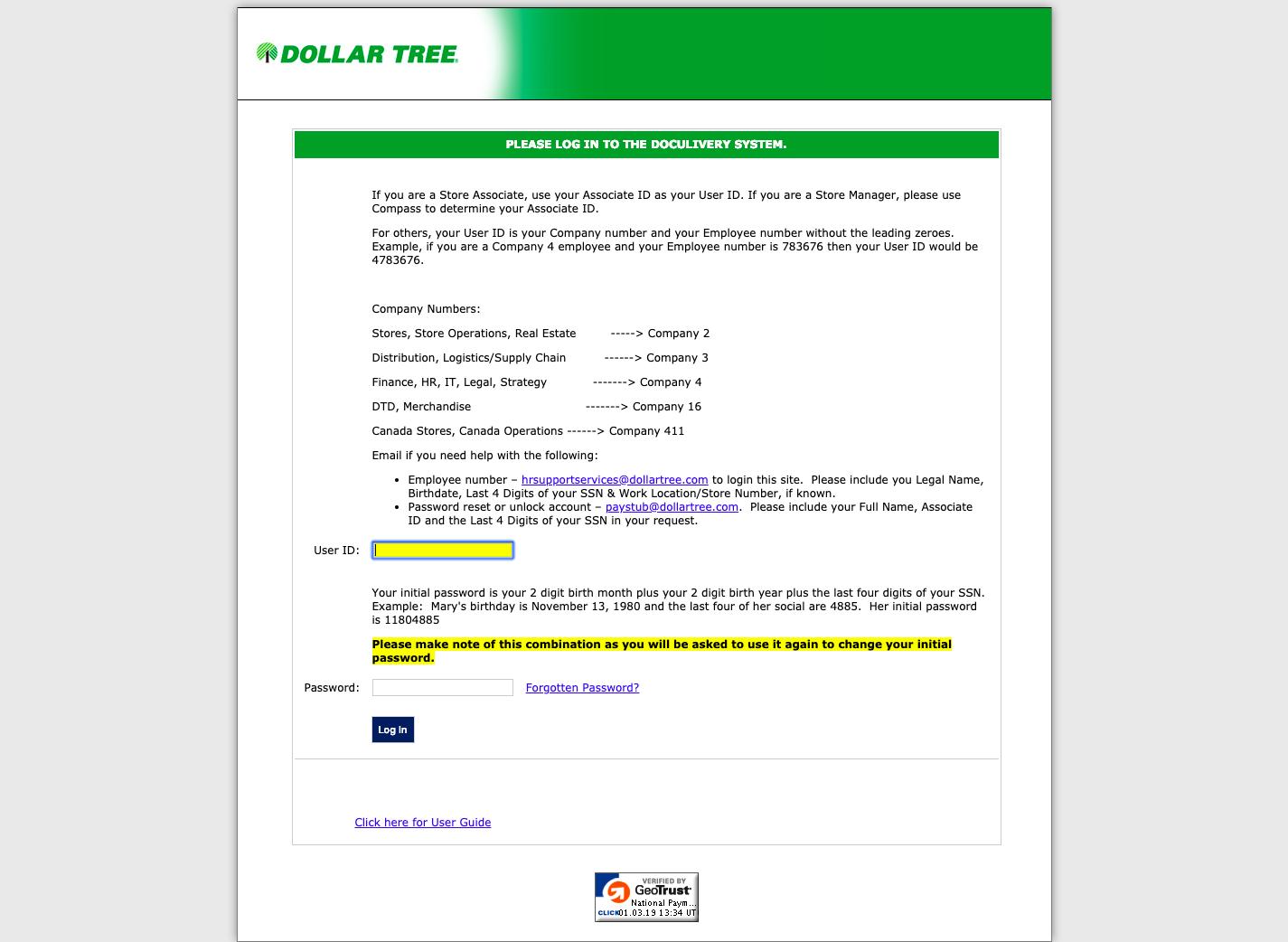 Dollar Tree Associates
