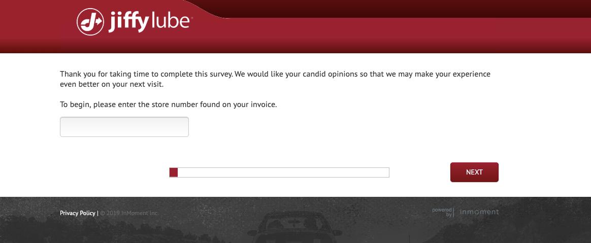 Jiffy Feedback Survey