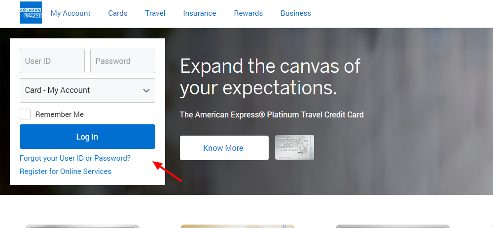 American Express IN Log in Credit Cards Rewards Offers