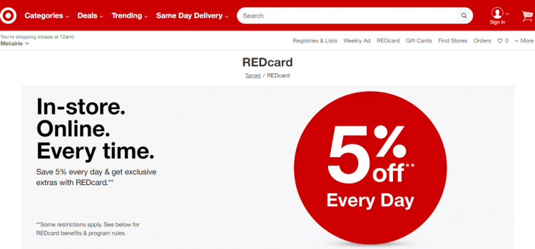 www.target.com/redcard – How To Apply Target RED Credit Card Online