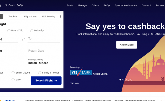 www.IndigoFeedback.com – Take Indigo Airlines Feedback Survey To Win $500 Gift Card