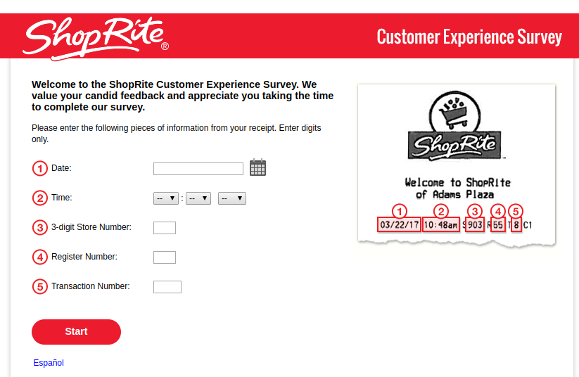 ShopRite-Customer-Experience-Survey