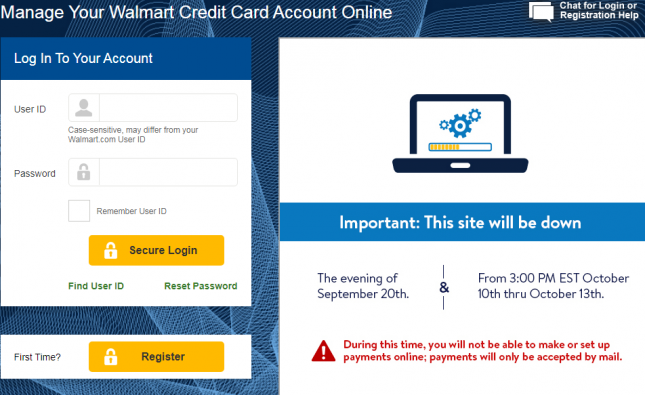 Manage Your Walmart Credit Card Account