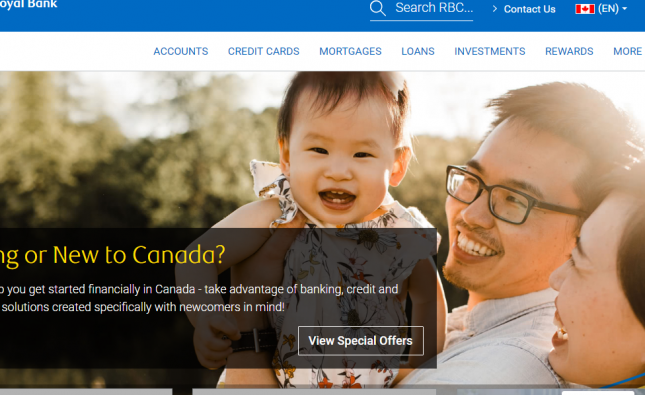 RBC Royal Bank Personal Banking login