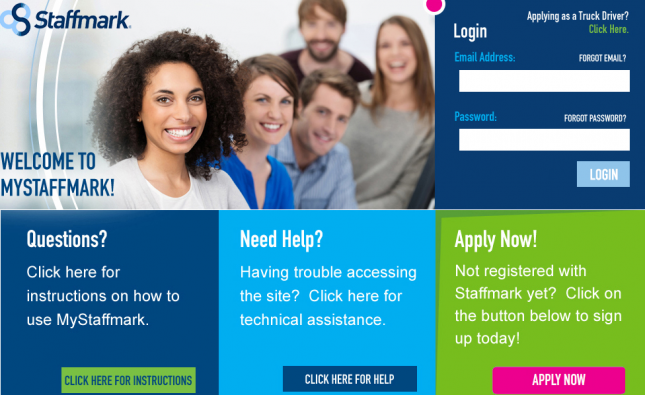 Staffmark Employees Portal For Job
