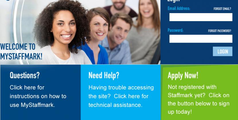 Staffmark Employees Portal For Job