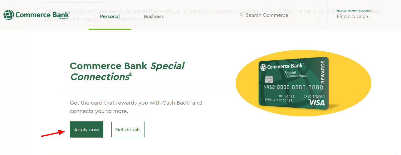 Commerce Bank Credit Card Apply