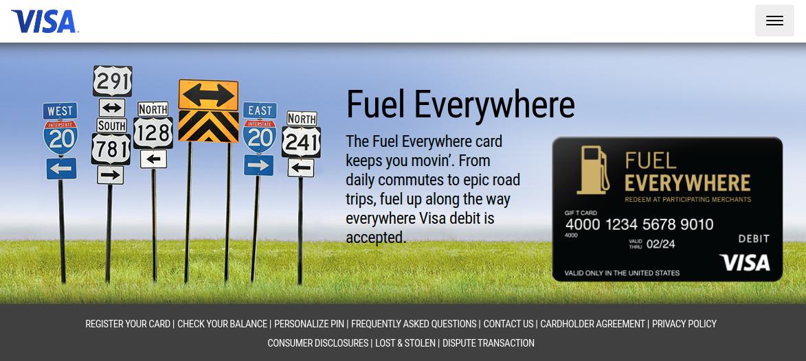 Fuel Everywhere Card Logo