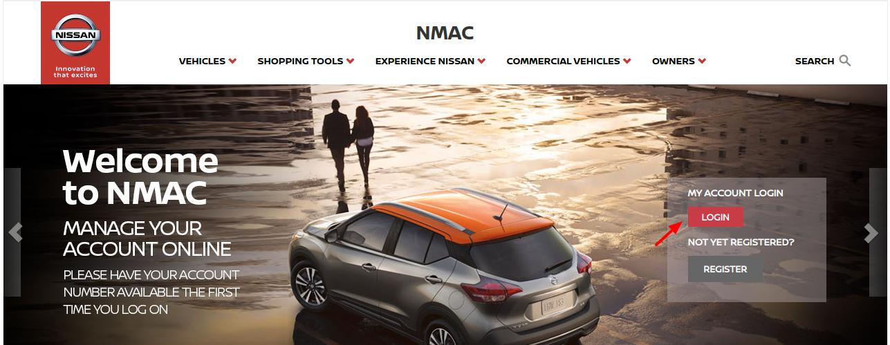 NMAC Finance Login