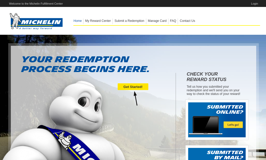 Michelin Get Started