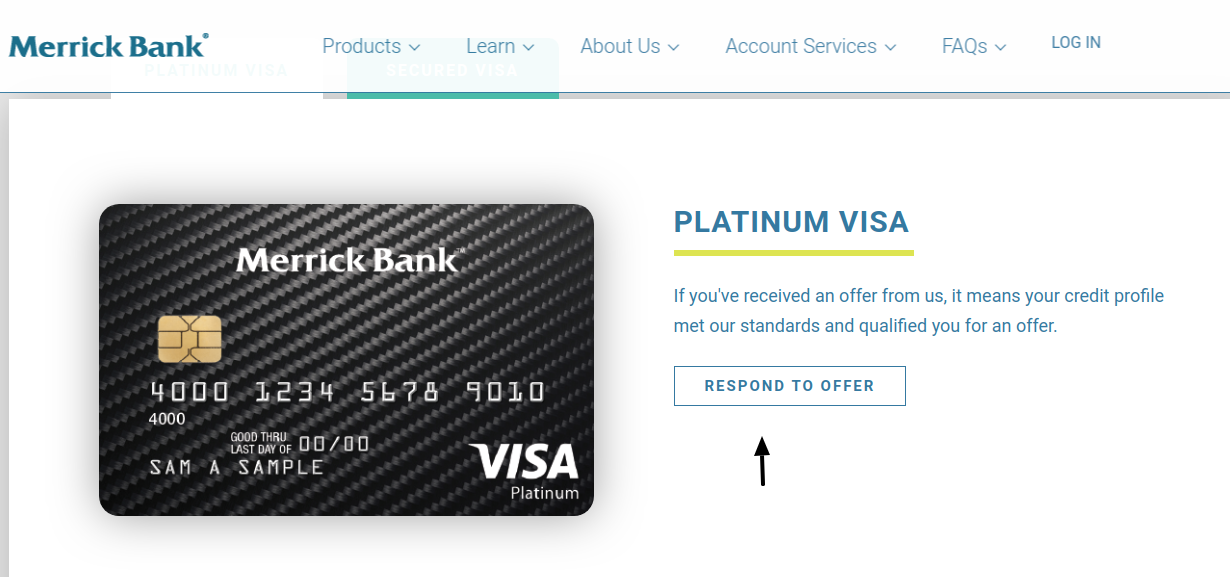 Merrick Bank Credit Card Apply