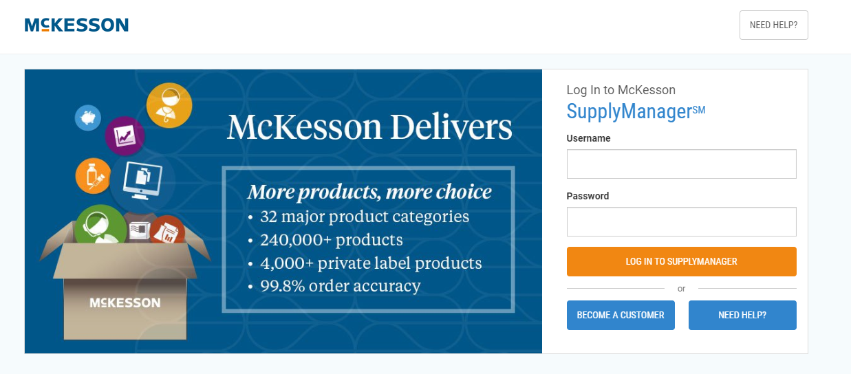 mckesson Supply Manager Sign Up