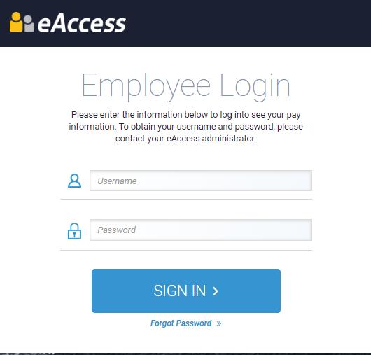 eAccess Foundation Login