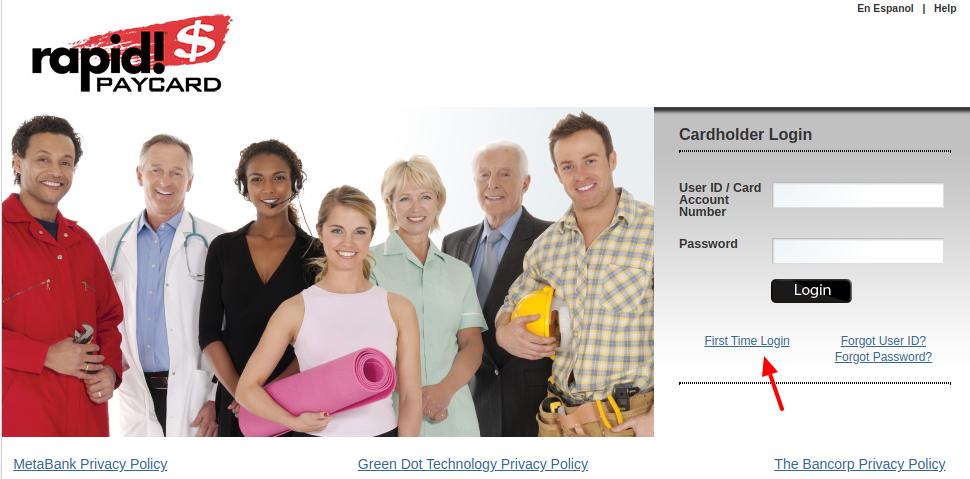 RapidCard Register