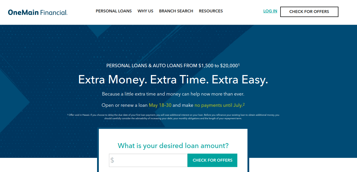 OneMain Financial Logo