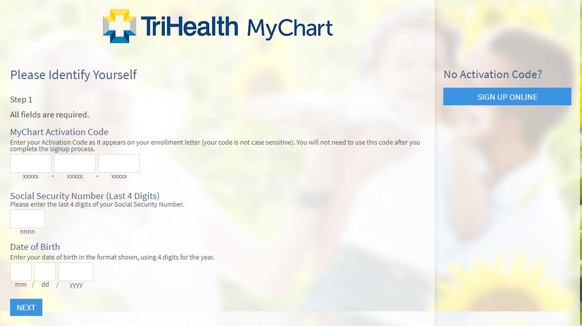 Mychart trihealth login guide