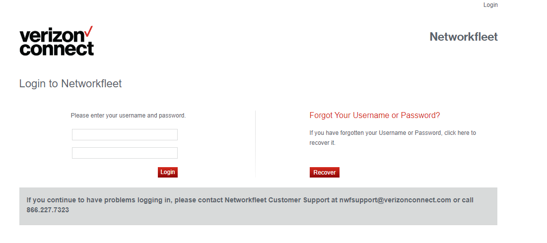 Networkfleet Account Login