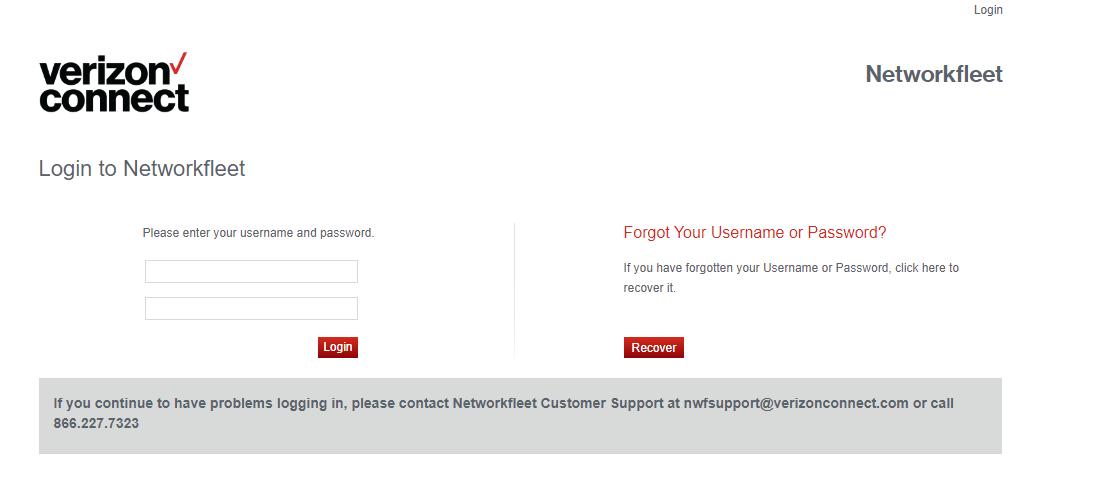 Networkfleet Account Login