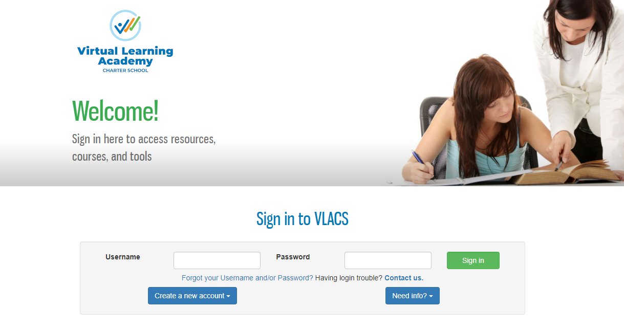 Virtual Learning Academy Charter School Login