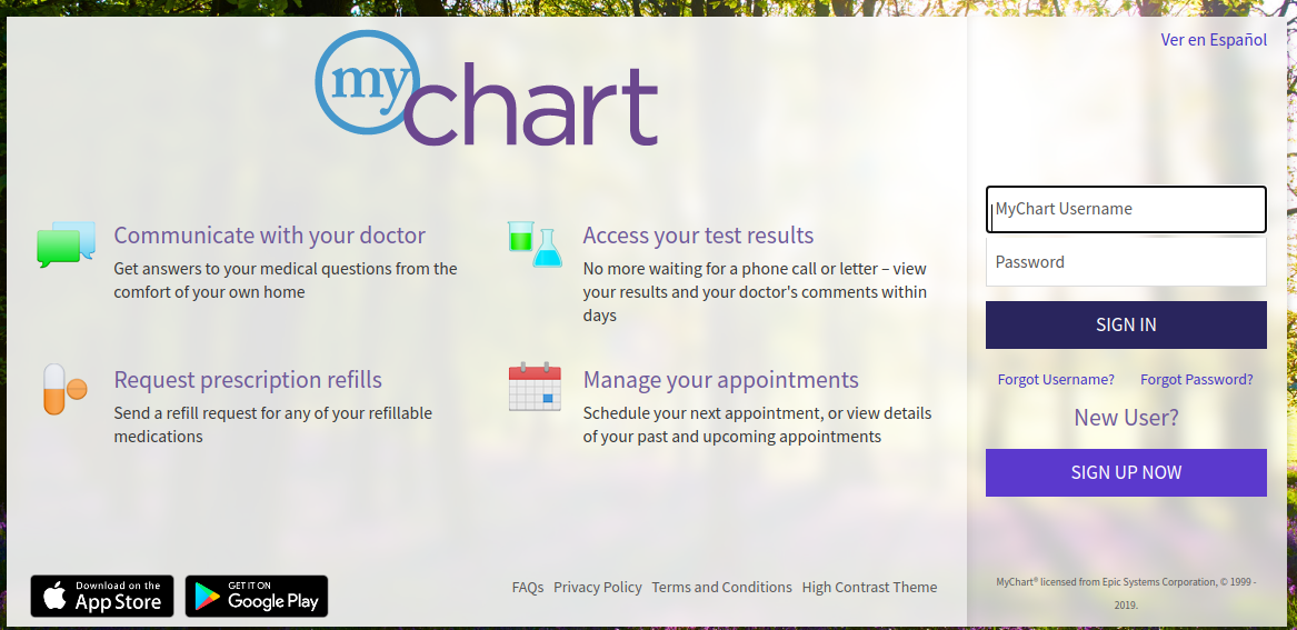 mychart spartanburg login