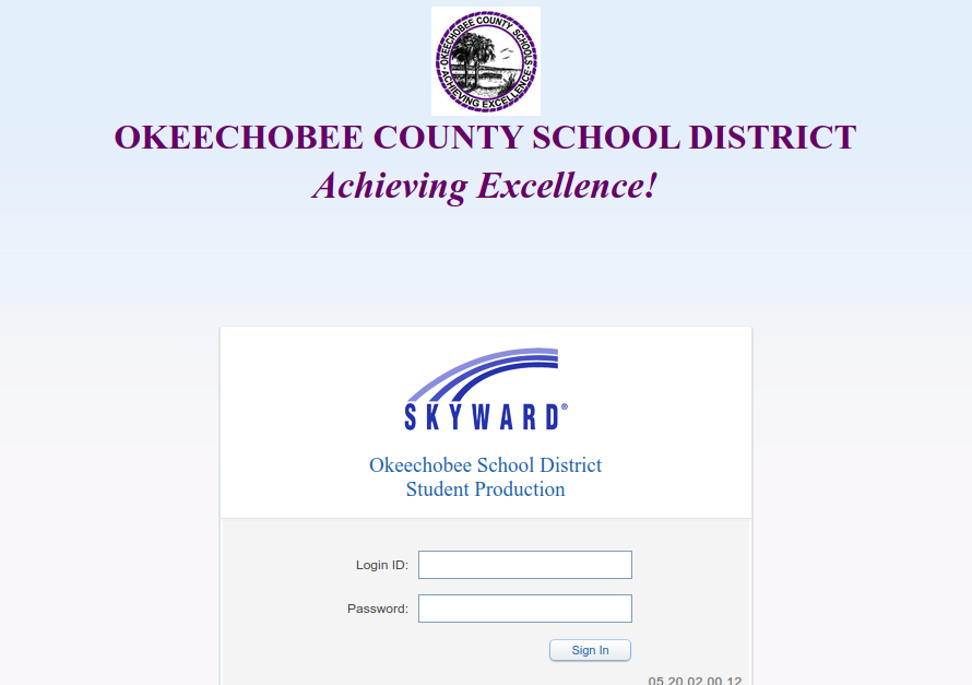 skyward okeechobee login