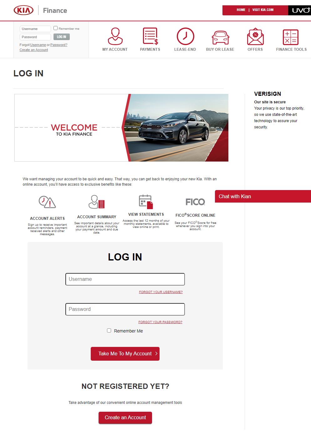 Kia-Motors-Finance-Log-In