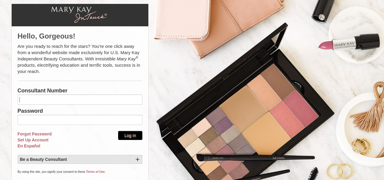 mary kay in touch usa login