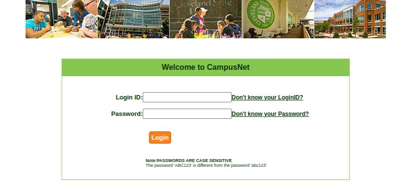 Cleveland State University Login