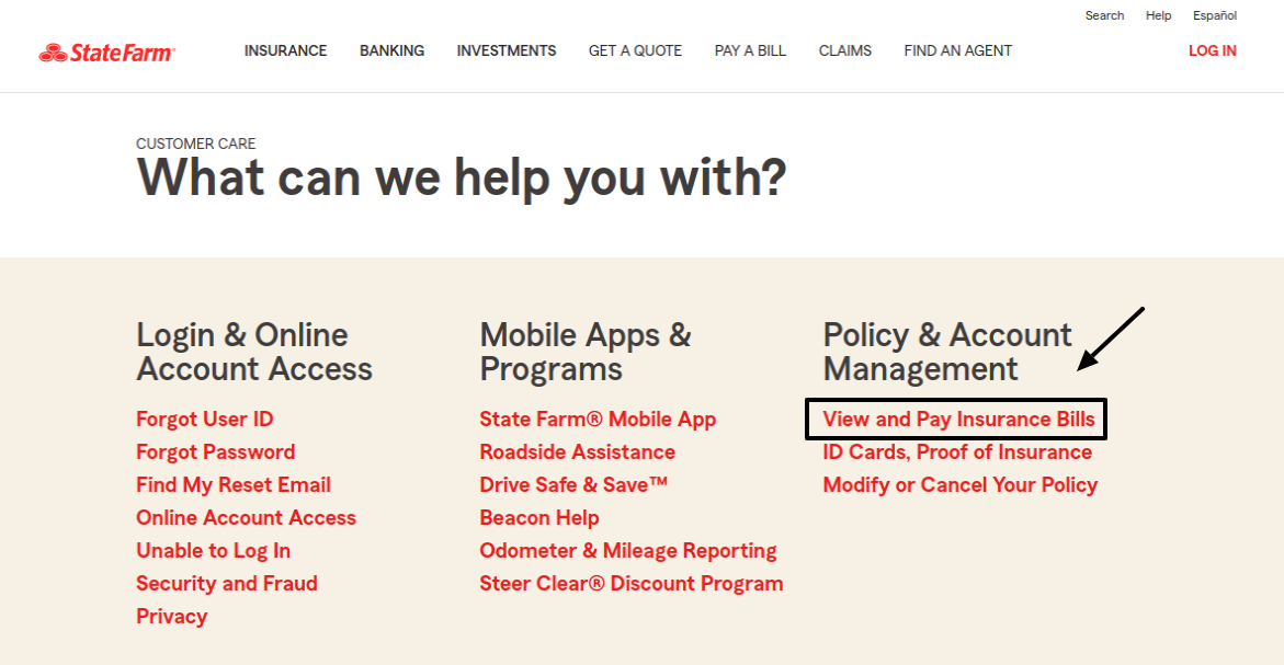 state farm bill pay options
