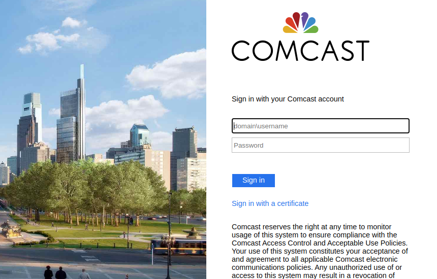 comcast webmail logo