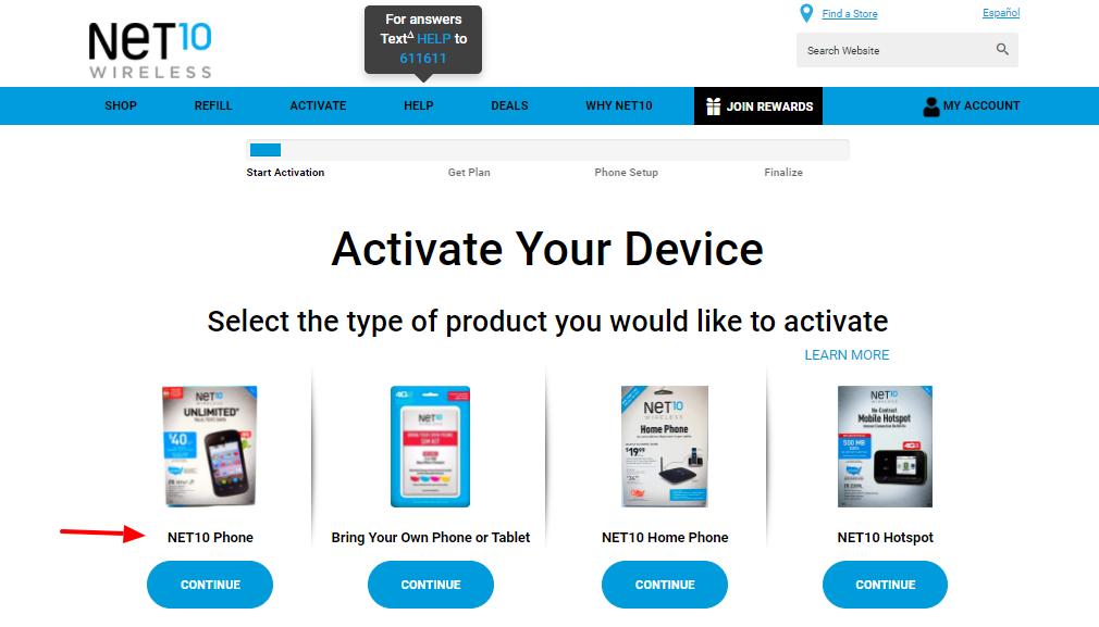 Net10 Wireless Activate