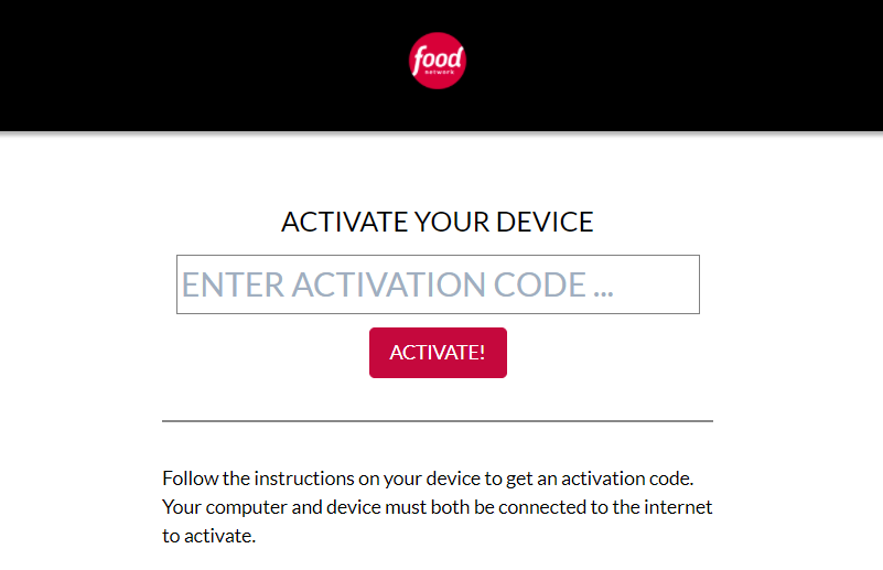 food network go activate
