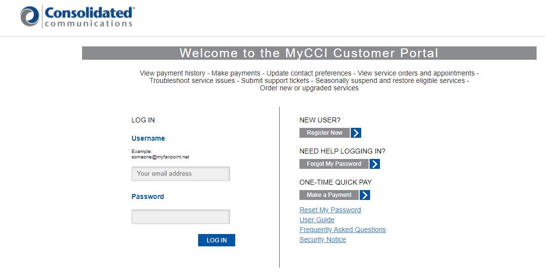 mycci login