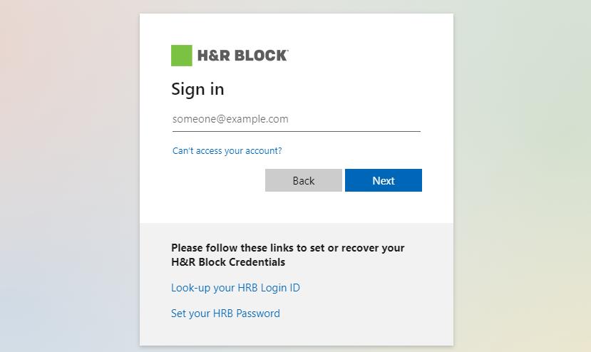 hrblock dna employee login